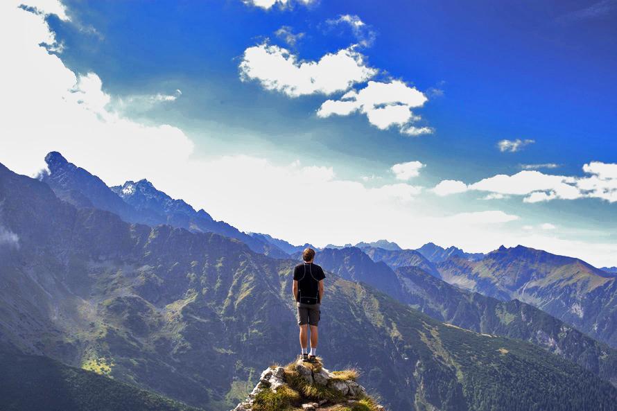 storytelling blog mountain hero content marketing